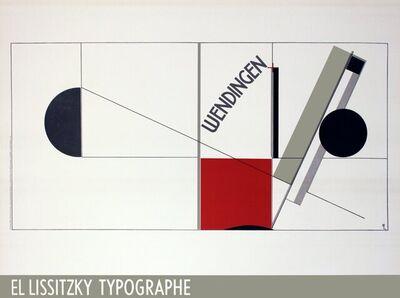 El Lissitzky, 'Magazine Cover Design Twists', 1991