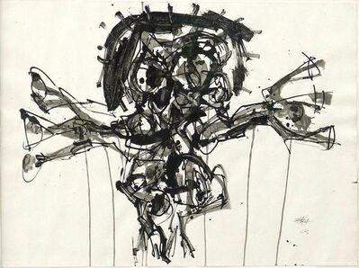 Antonio Saura, 'Crucifixión', 1963
