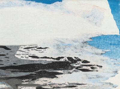 Gottfried Salzmann, 'La falaise blanche', 2019