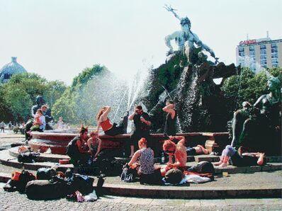 RÖMER + RÖMER, 'Reisende Am Neptunbrunnen', 2008