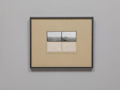 Michelle Stuart, 'Chalk Downs from Ridgeway Track, Avebury', 1980-1981