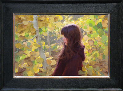 Jeremy Lipking, 'October Aspens', 2013