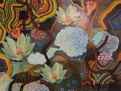Linda Dee Guy, 'Lotus Clouds ', 2017