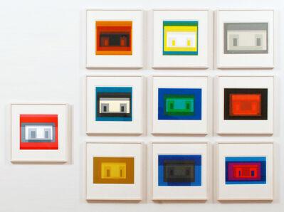 Josef Albers, 'Ten Variants', 1967
