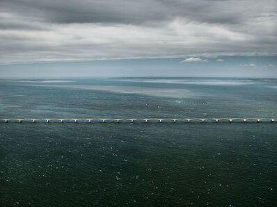 Edward Burtynsky, 'Zeeland Bridge #1, Oosterschelde Estuary, Zeeland', 2011