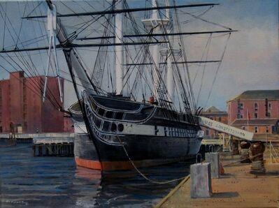 Frederick Kubitz, 'USS Constitution Charlestown Navy Yard', 2020