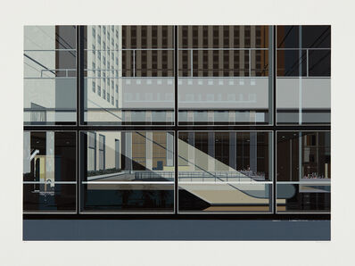 Richard Estes, 'Manhattan, from Urban Landscapes No. 3', 1981