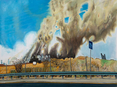 Talia Israeli, 'An August Ride', 2015