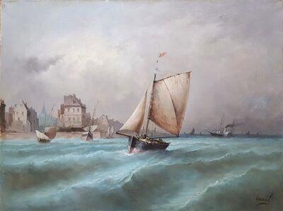 Inoel, 'Vue de Venise', ca. 1875