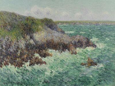 Gustave Loiseau, 'Rochers de Saint-Lunaire', 1904