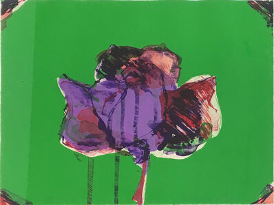 Fritz Scholder, 'The Rose (State II)', 1980