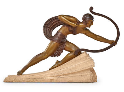 """Demetre Chiparus, 'Large Art Deco sculpture, """"Diana,"""" France'"""