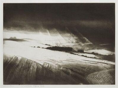 Norman Ackroyd, 'Woolstone Down', 1980