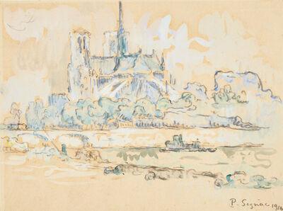 Paul Signac, 'Notre Dame, Paris', 1910