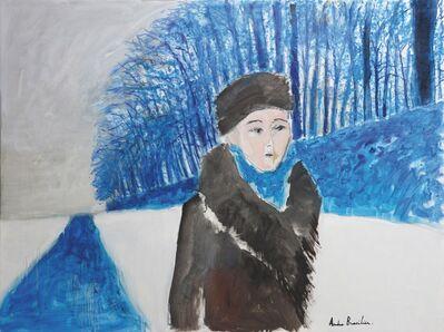 Andre Brasilier, 'Promenade d'hiver', 2015