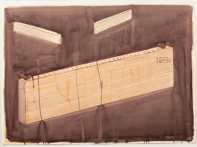 Los Carpinteros, 'S/T (Construccion de paredes con reglas)', 2000