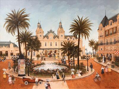 Fabienne Delacroix, 'La place du casino de Monte-Carlo',