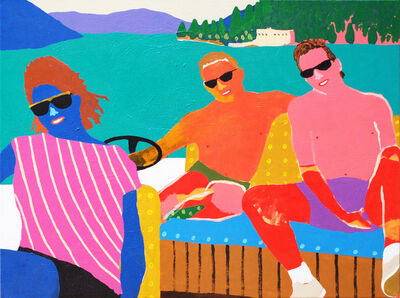 Alan Fears, 'A Day at the Lake', 2018