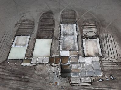 Edward Burtynsky, 'Salt Pan #23, Little Rann of Kutch, Gujarat, India', 2016