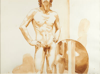 Philip Pearlstein, 'Untitled (Male Nude)', 1972