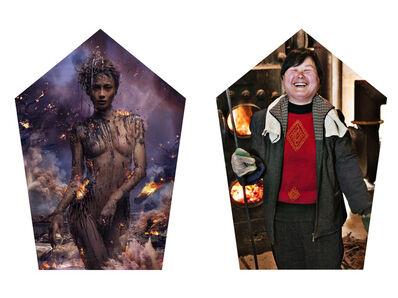 Chen Man, 'Five Elements: Fire', 2011