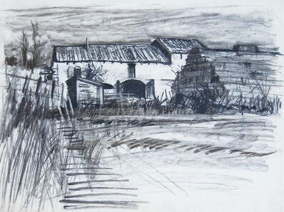 Geoffrey Lefever, 'Provencal barn', 1969