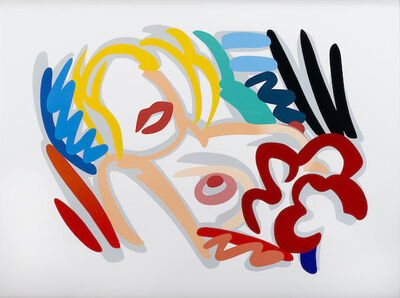 Tom Wesselmann, 'Big Blonde', 1988-1989