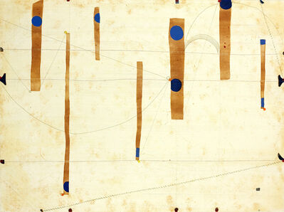 Caio Fonseca, 'THREE STRING ETCHING BLUE POINT', 2006