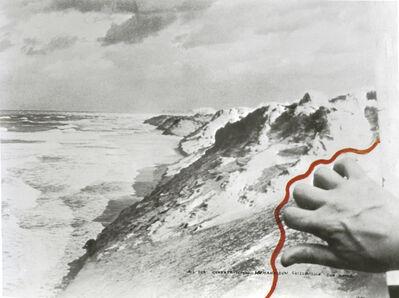 VALIE EXPORT, 'Aus dem Geometrischen Humanoiden Skizzenbuch der Natur, Rote Welle', 1974