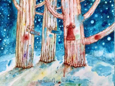 Rabindranat Diaz-Cardona, 'Tree Meeting', 2018