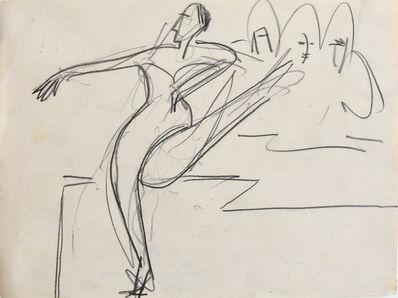 Ernst Ludwig Kirchner, 'Dancer | Tänzerin', 1927