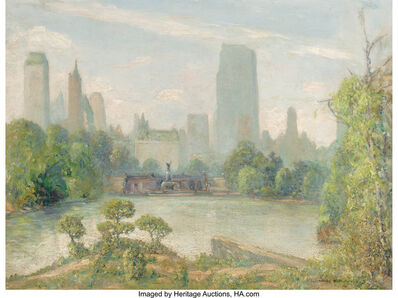 Johann Berthelsen, 'Central Park Looking South at Bethesda Fountain'
