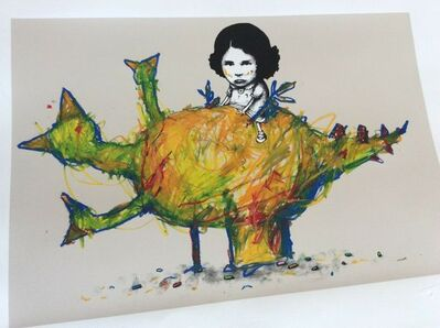 dran, 'DRAN POULET DINOSAURE (CHICKEN DINOSAUR) SIGNED & NUMBERED', 2011