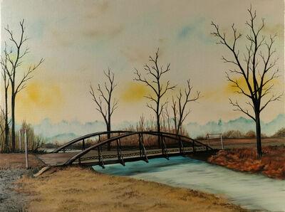 Eric Wright, 'Loren Road Bridge (Bucolic)', 2020