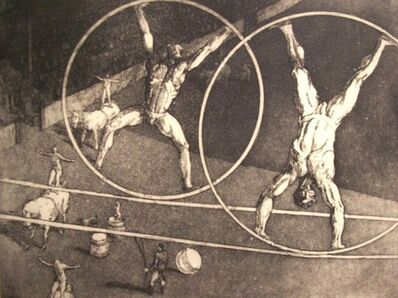 harry sternberg, 'Circus #3, The Wheels', 1929