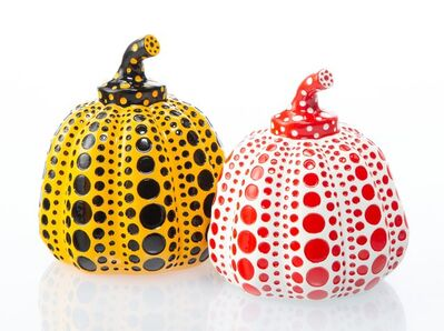 Yayoi Kusama, 'Red and Yellow Pumpkin (two works)'