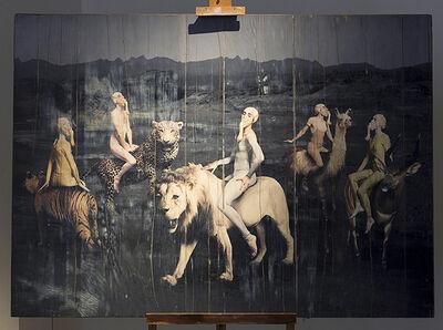 Nicola Costantino, 'Andróginos del jardín', 2016