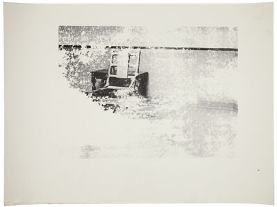 Andy Warhol, 'Electric Chair (F. & S. IIIA.4[b])', ca. 1978