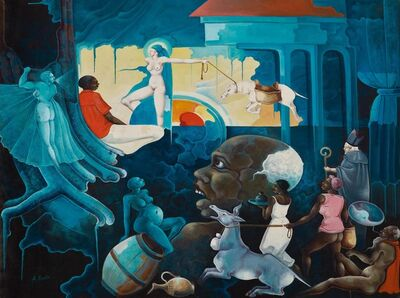 Celestin Faustin, 'Between Two Dreams', 1980