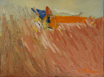 Fletcher Benton, 'Cornfield', ca. 1960