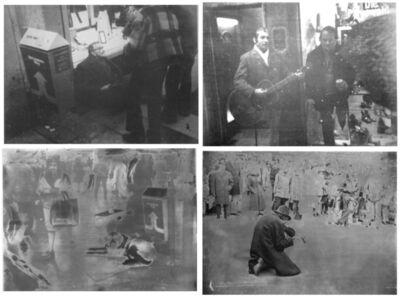 Sigmar Polke, 'Cologne Beggars (Kolner Bettler)', 1972