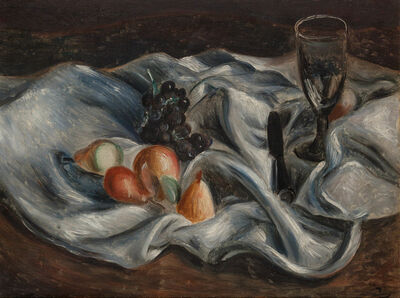 André Derain, 'Fruits et Verre sur une Nappe', circa 1922