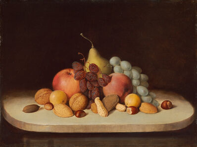 Robert Seldon Duncanson, 'Still Life with Fruit and Nuts', 1848