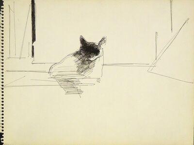 Sidney Goodman, 'Cat Study', ca. 1962
