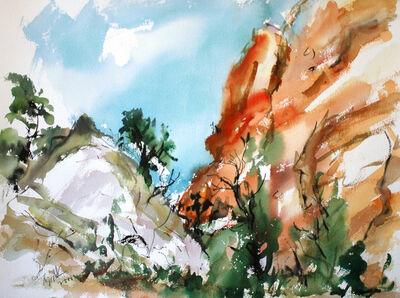 Raoul Middleman, 'Cedar Mesa', 2000
