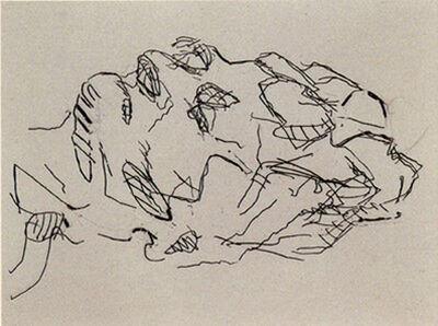 Frank Auerbach, 'Sleep', 2001