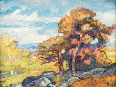 Henri Hayden, 'Nature morte aux tomates et au citron', executed in 1953