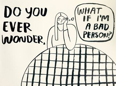 Carissa Potter, 'What if I am a bad person?', 2019