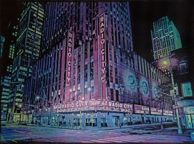 Logan Hicks, 'Radio City Music Hall', 2017
