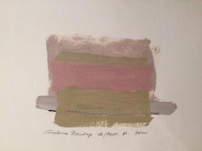 Rebeca Mendoza, 'Serie colores', 2014